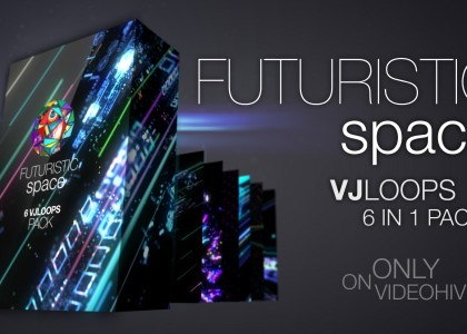 Futuristic Space VJ Pack