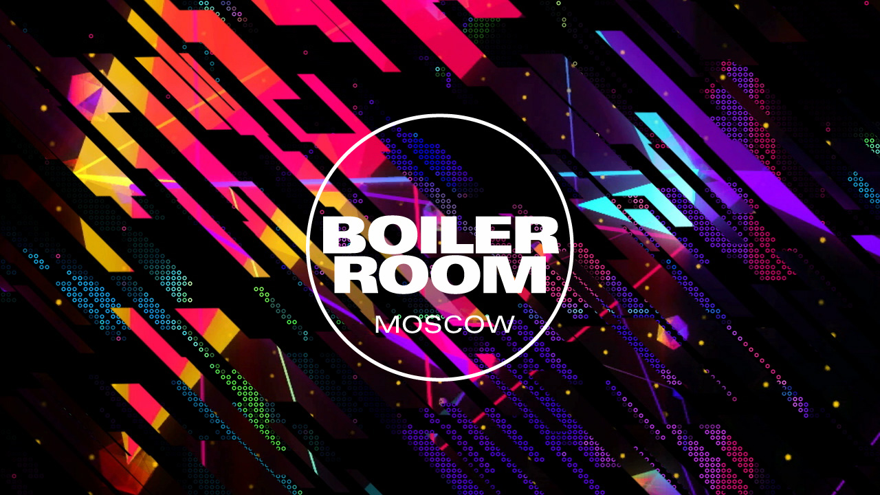 Boiler Room Moscow Visuals Gesh Tv