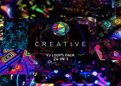 Creative VJ loops bundle
