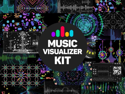Music visualizer Kit