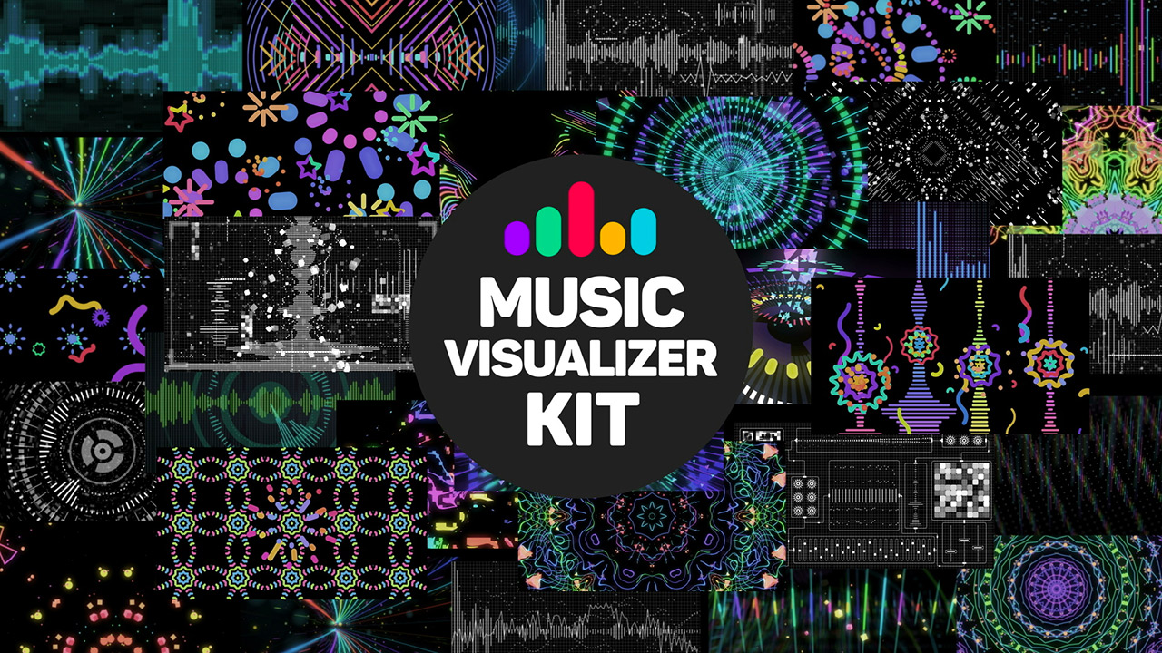 music visualizer kit after effects constructor template. Black Bedroom Furniture Sets. Home Design Ideas