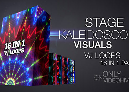 Stage Kaleidoscope Visuals