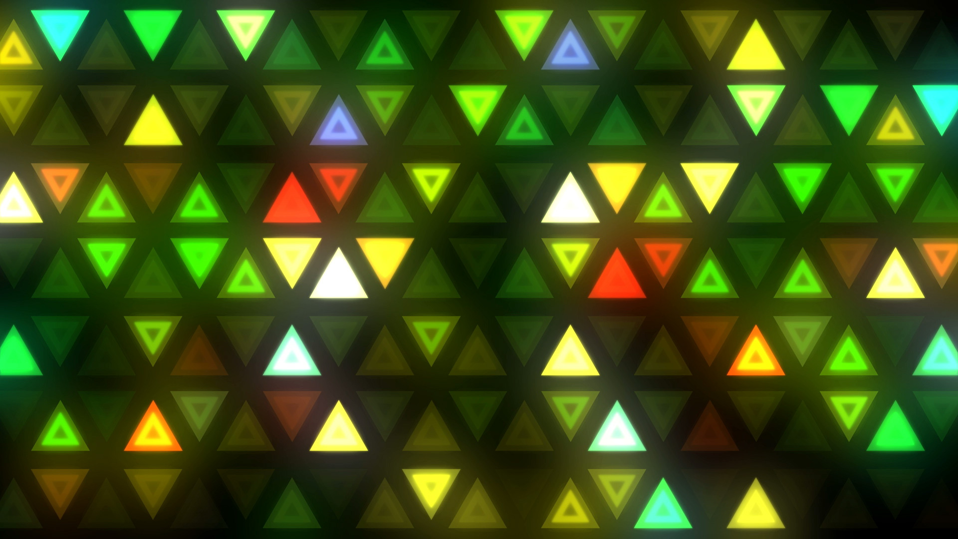 Triangles Led Wall Vj Loops Pack Gesh Tv