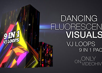 Dancing Fluorescent Visuals
