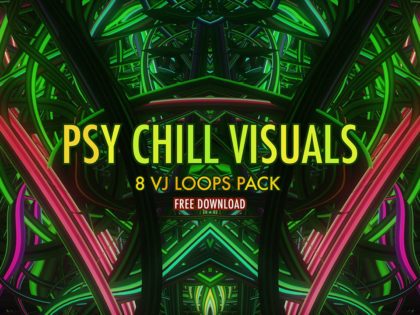 Psy Chill Visuals  Download free VJ loops pack now!