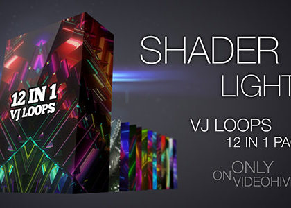 Shader Lights VJ Pack