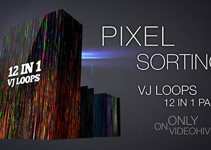Pixel Sorting VJ Loops Pack
