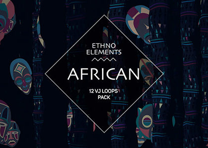African Ethno Elements VJ Loops Pack