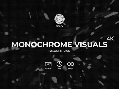 Monochrome Visuals 4K Pack