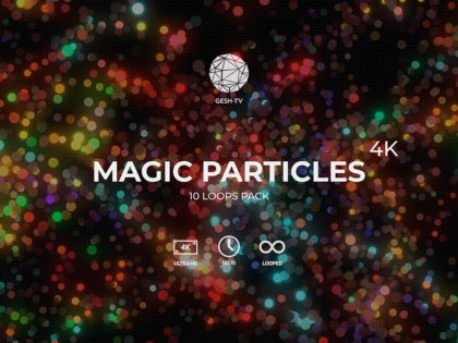 Magic Particles 4K Pack