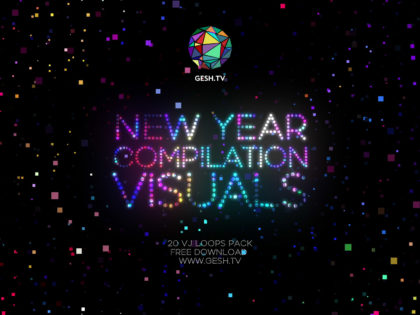 New Year compilation visuals