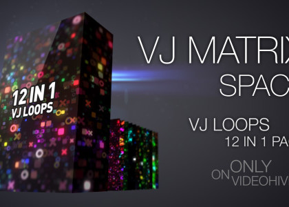 VJ Matrix Space Pack