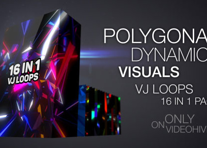 Polygonal Dynamic Visuals