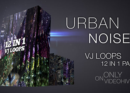 Urban Noise Vj Loops Pack